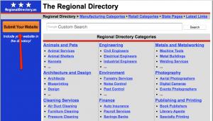 internal link for regional seo directory